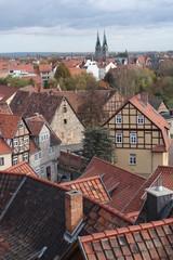Teilansicht von Quedlinburg