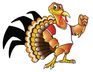 Turkey Mascot