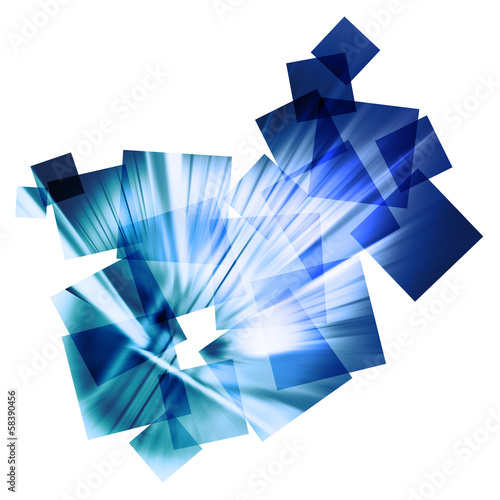 abstract speed collage