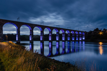 Blue Royal Border Bridge