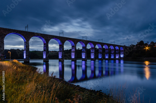 Blue Royal Border Bridge