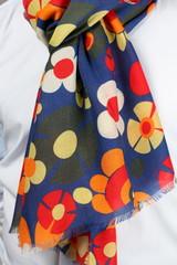 foulard a fiori