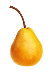 Ripe yellow pear