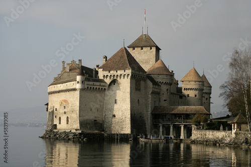 Chateau De Chillon Castle
