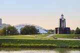 Nemiga Island of Tears, a memorial to commemorate Belarusian sol poster
