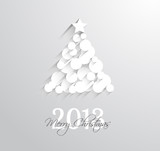 Delicate 2013 Christmas background