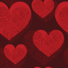heart ornament pattern whole