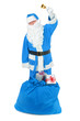 Frozen Santa claus with attributes
