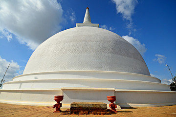 Mahaseya Dagoba in Mihintale  holy site in Sri Lanka, near Anura