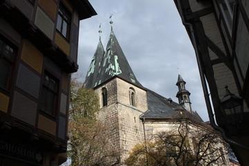 St. Blasiikirche in der Quedlinburger Altstadt