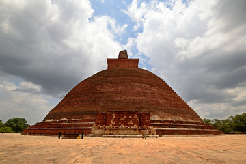 Jetavanarama Dagoba in Anuradhapura, Sri Lanka
