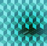 Abstract Background /retro mosaic brochure or banner