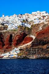 Santorini, Oia village.