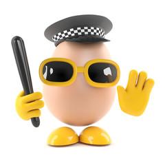 Egg police