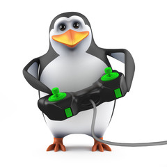 Penguin gamer