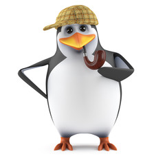 Sherlock Penguin solves the case