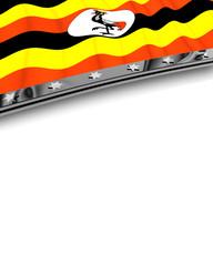 Designelement Flagge Uganda