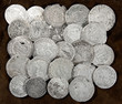 The old silver coins. There may be collectible