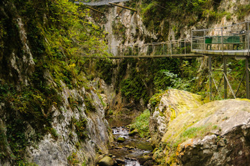 Gorges of the fou inArles-sur-Tech France