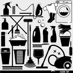 Clean icon set.