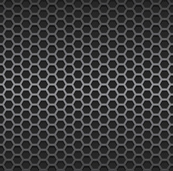 Silver metallic grid background