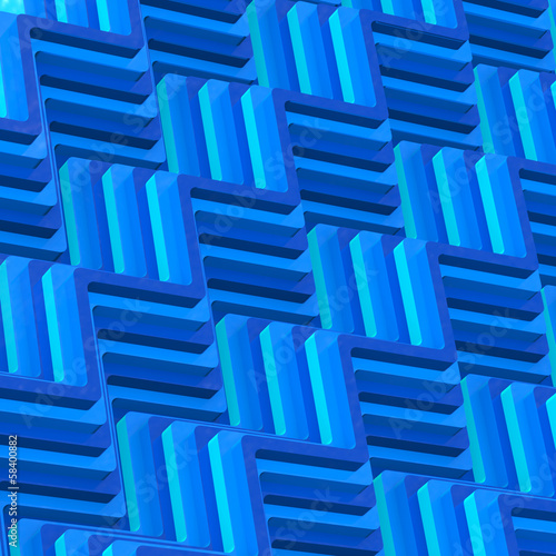 Abstract 3d wavy background.
