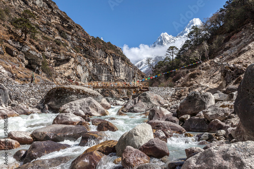 Trekking around Everest Foothills Nepal