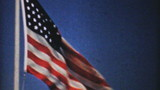 American Flag Flying In The Breeze-1940 Vintage 8mm film