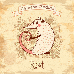 Chinese Zodiac - Rat