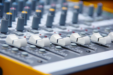 Audio console 4