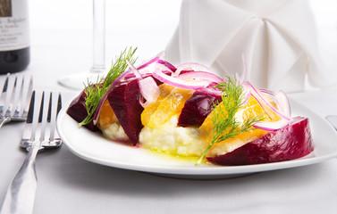 Labneh Citrus Salad