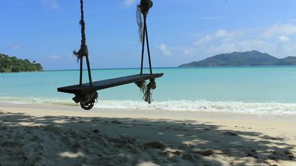 Small swing on Tri Trang beach