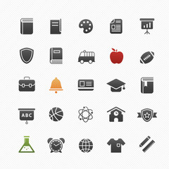 education vector symbol icon