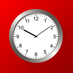 Clock vector logo