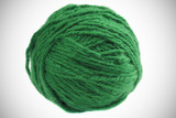 Ball of sea  green yarn