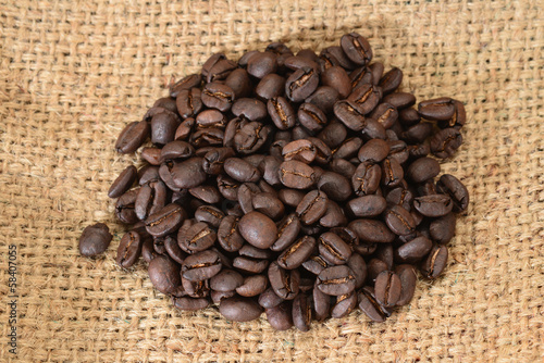 Roasted Coffee Seeds