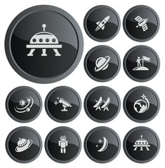 Space button set