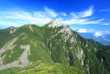 Minami Alps Mt. Kaikomagatake, Yamanashi, Japan