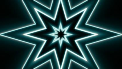 blue stars, loop