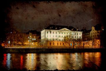 Zurich in der Nacht