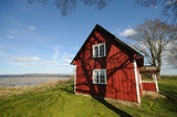 Traditional cottage from Sweden