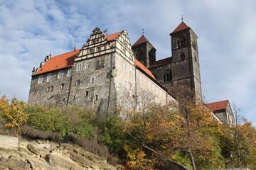 Schlossberg und Stiftskirche St. Servatii zu Quedlinburg