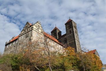 Quedlinburger Schlossberg mit Dom St. Servatii