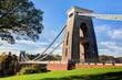 Daytime View of the Clifton Suspension Bridge in Bristol