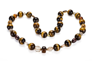 Tiger eye chaplet