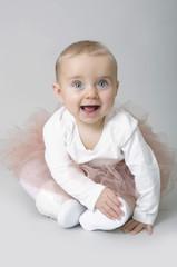 Baby Girl in tutu