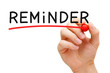 Reminder Red Marker - 58423451
