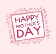 happy valentines day, mother's day cards with flowers