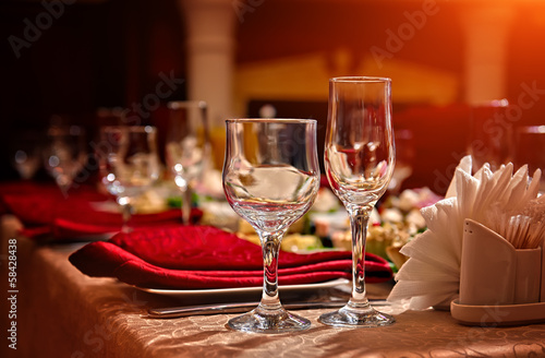 restaurant set