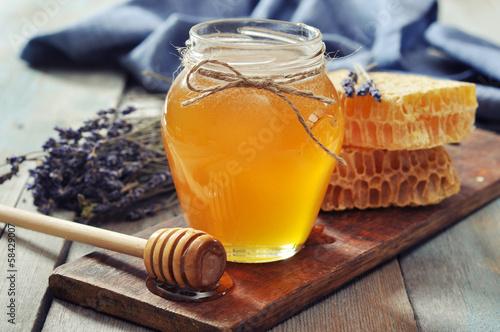 Papiers peints Dessert Honey in jar